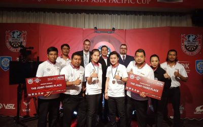 RESULTS for WDF Asia Pacific Cup 2018 in Korea (9-13 October 2018)