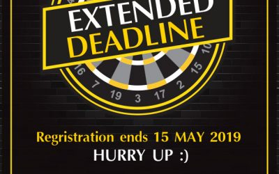 Extended Deadline for Singha Darts Tour 2019
