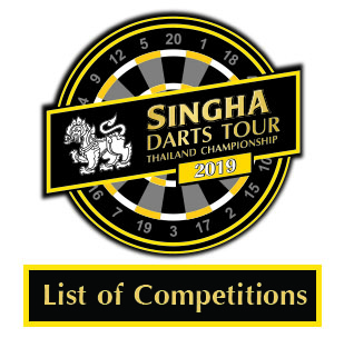 List of Competitions Singha Darts Tour Thailand Championship 2019