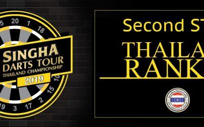 ผลคะแนนการแข่งขัน Singha Darts Tour และอันดับ นักกีฬาดาร์ท ทั้งสอง 2 สนาม