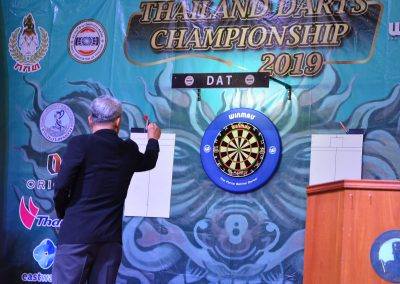 การแข่งขัน The First THAILAND DARTS CHAMPIONSHIP 2019 / 17Aug. 2019