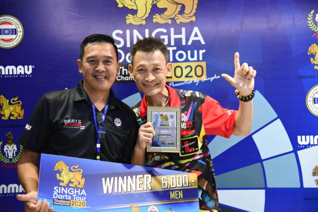 ภาพบรรยากาศการแข่งขัน Singha Darts Tour Thailand championship 2020 สนามที่ 3 และ สนามที่ 4
